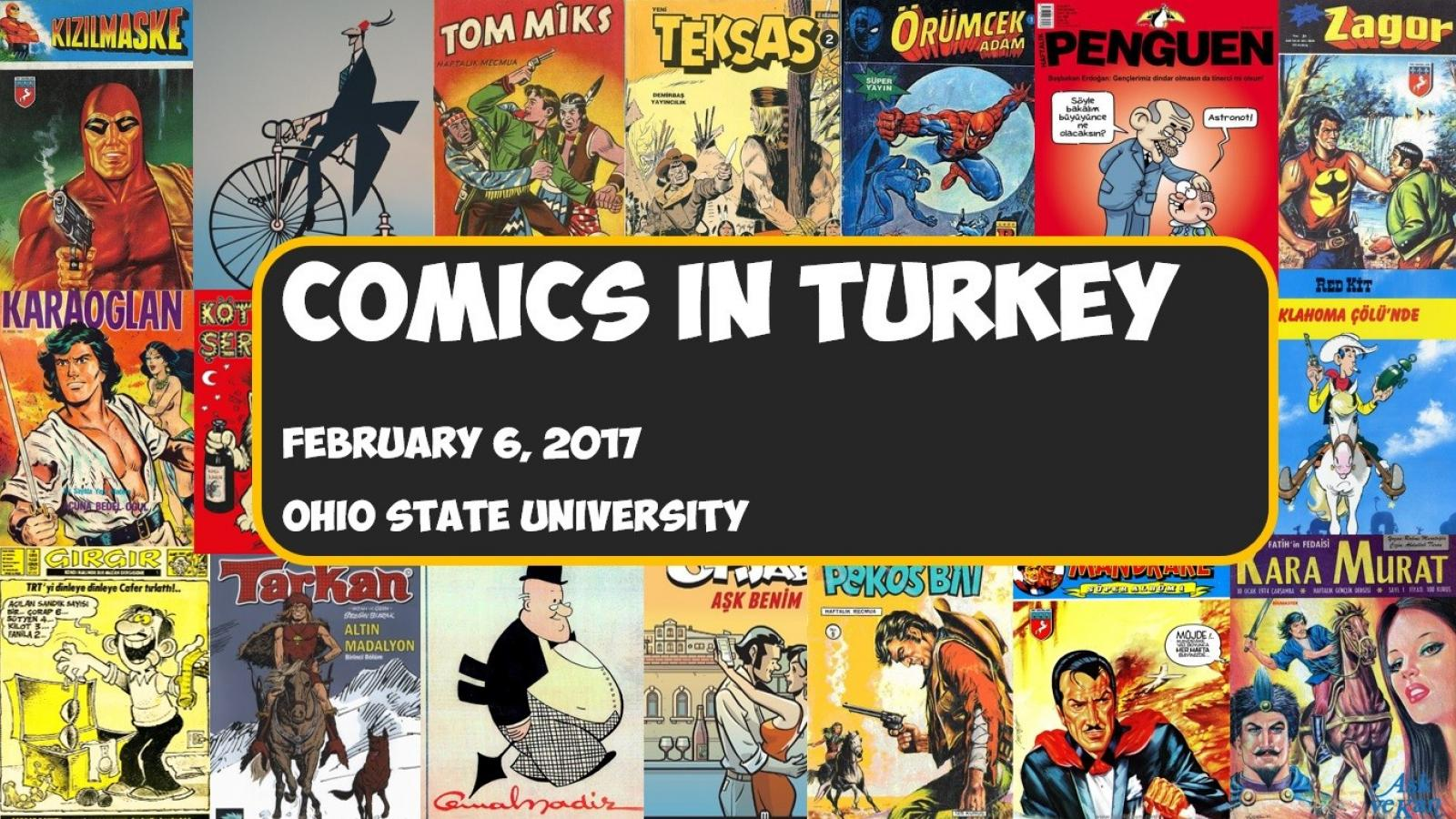 Image of Comics in Turkey