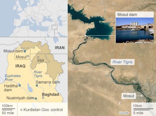 Tigris/Mosul Dam
